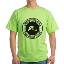 Support Field Hockey Player T-Shirt
