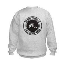 Support Field Hockey Player Sweatshirt