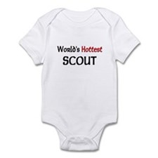 World's Hottest Scout Infant Bodysuit