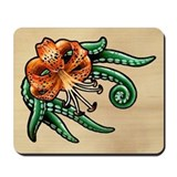Tiger Lily Tentacles Mousepad