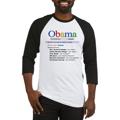 Obama Search Baseball Jersey