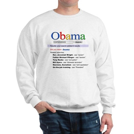 Obama Search Sweatshirt