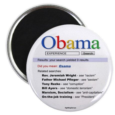 "Obama Search 2.25"" Magnet (10 pack)"