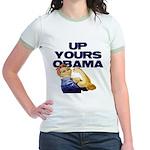 Anti-Obama Jr. Ringer T-Shirt