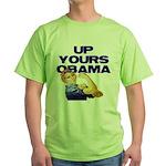 Anti-Obama Green T-Shirt