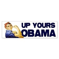 Anti-Obama Bumper Bumper Sticker