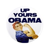 Anti-Obama 3.5&amp;quot; Button (100 pack)