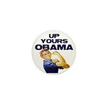 Anti-Obama Mini Button (100 pack)