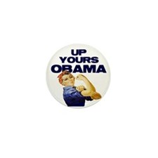 Anti-Obama Mini Button (10 pack)
