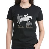 Hunter Jumper Trio Script Tee