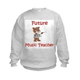 Future Music Teacher Sweatshirt