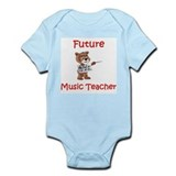 Future Music Teacher Onesie