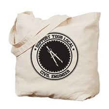 Support Civil Engineer Tote Bag