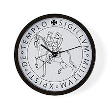 Templar Seal Wall Clock