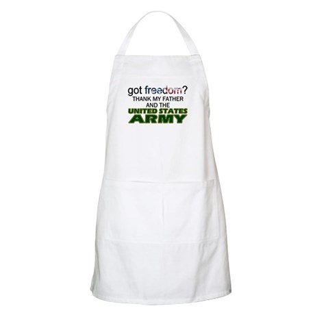 Got Freedom? Army (Father) BBQ Apron