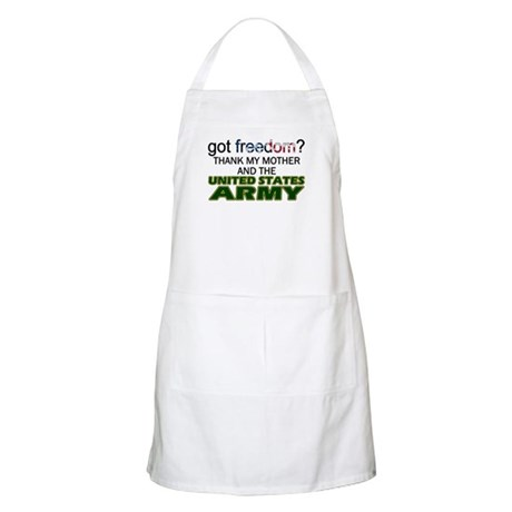 Got Freedom? Army (Mother) BBQ Apron