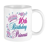 16th Birthday Princess Small Mug