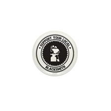 Support Blacksmith Mini Button (10 pack)