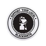 "Support Blacksmith 3.5"" Button"