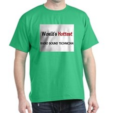 World's Hottest Radio Sound Technician T-Shirt