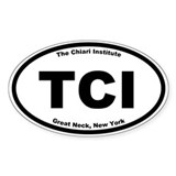 The Chiari Institute Oval Decal