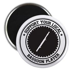 "Support Bassoon Player 2.25"" Magnet (10 pack)"