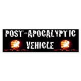 Post Apocalyptic Bumper  Bumper Sticker