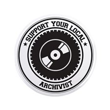 "Support Archivist 3.5"" Button (100 pack)"