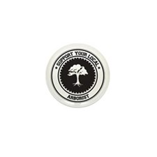 Support Arborist Mini Button