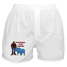 Paul Bunyan is My Homeboy Boxer Shorts
