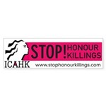 ICAHK Bumper Sticker (50 pk)