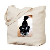 Nigel the Miniature Schnauzer Tote Bag