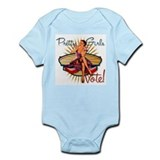 Pretty Girls Vote : 1940's Infant Bodysuit