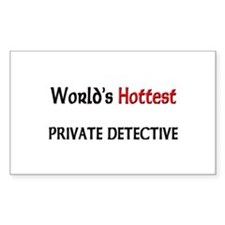 World's Hottest Private Detective Decal