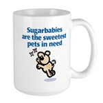 Sugarbabies (Dog) Large Mug
