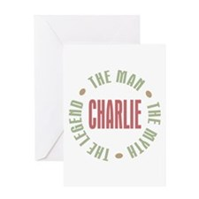Charlie Man Myth Legend Greeting Card