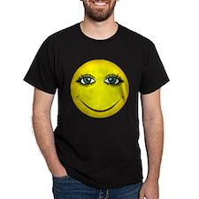Girl Smiley Face T-Shirt