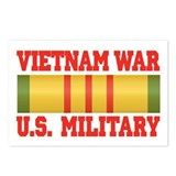 Vietnam War Service Ribbon Postcards (Package of 8