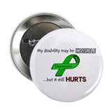 "Depression Hurts 2.25"" Button"