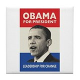 Obama JFK '60-Style Tile Coaster