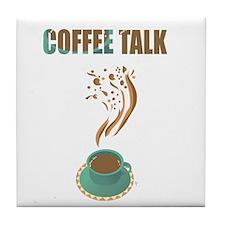 Cute Talk talkative Tile Coaster