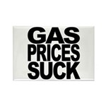 Gas Prices Suck Rectangle Magnet (100 pack)