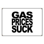 Gas Prices Suck Banner