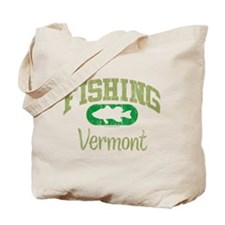 FISHING VERMONT Tote Bag