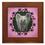 New Chinese Crested Design Framed Tile
