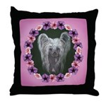 New Chinese Crested Design Throw Pillow
