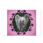 New Chinese Crested Design Postcards (Package of 8