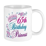 65th Birthday Princess Small Mug