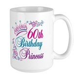 60th Birthday Princess Coffee Mug
