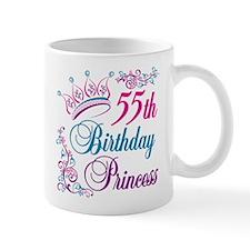 55th Birthday Princess Mug